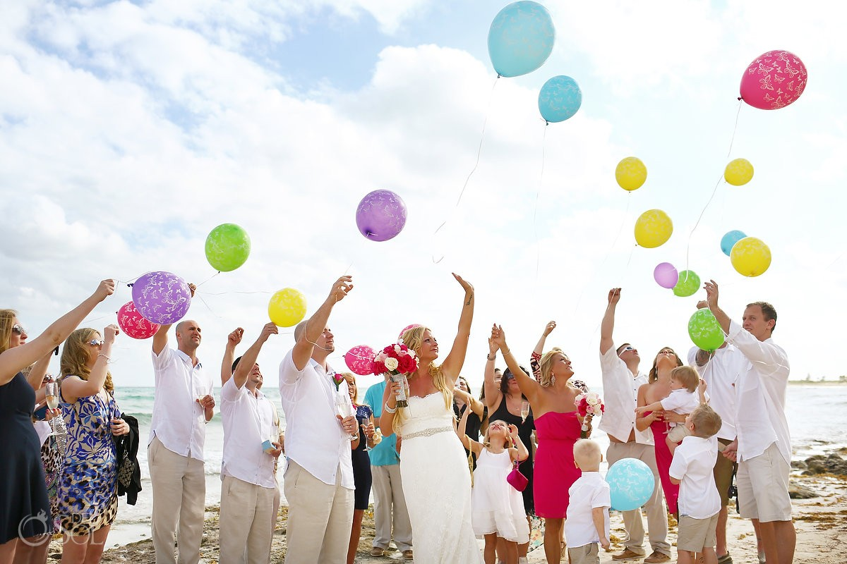 Now Jade wedding balloons