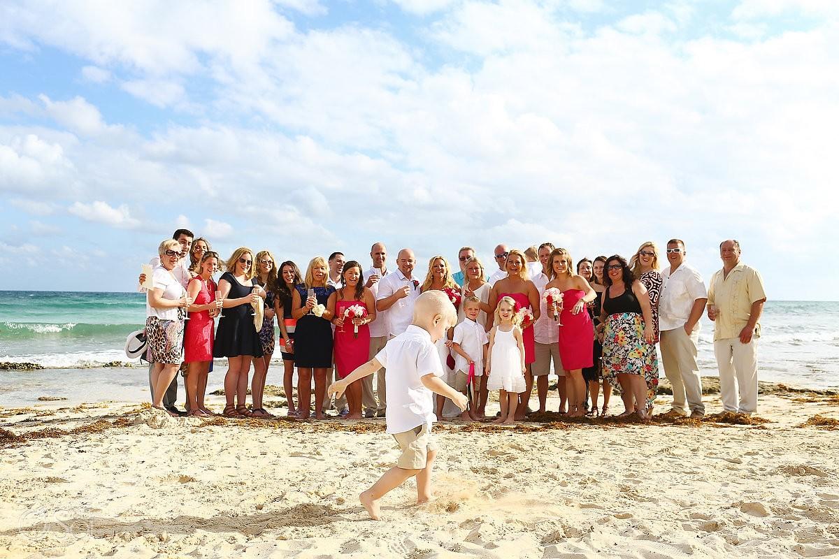 Now Jade beach wedding