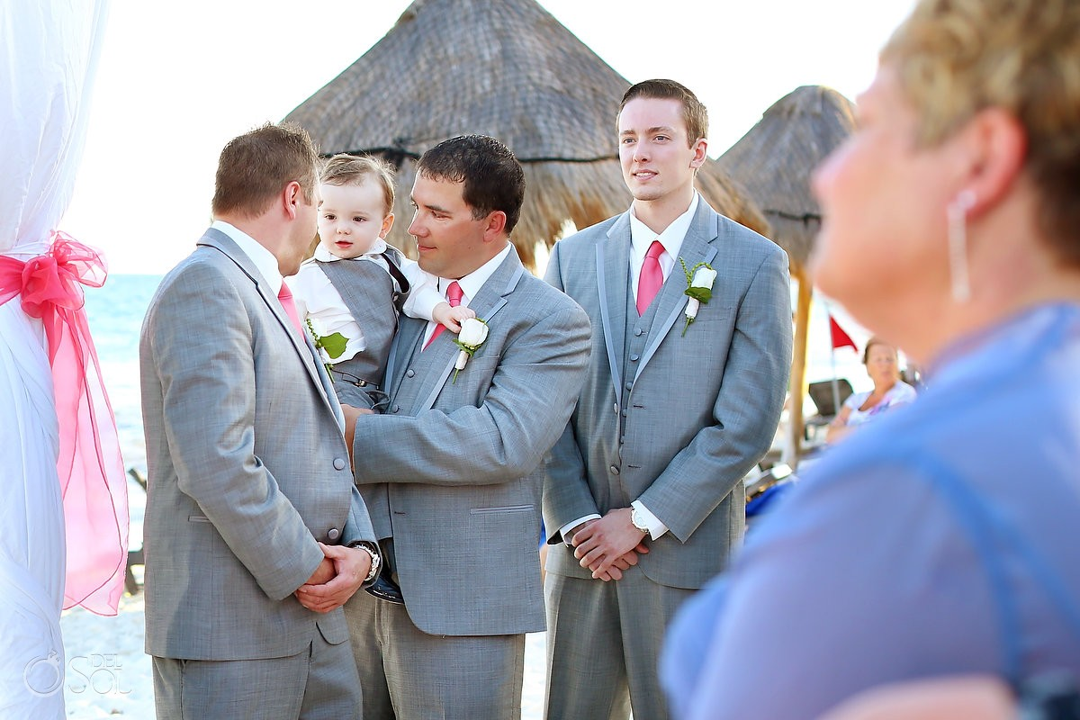 Riviera Maya Beach Wedding at Ocean Coral & Turquesa - Del Sol ...