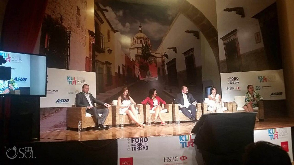 Kultur 2015 Foro Nacional de Turismo San Miguel de Allende tourism and weddings panel