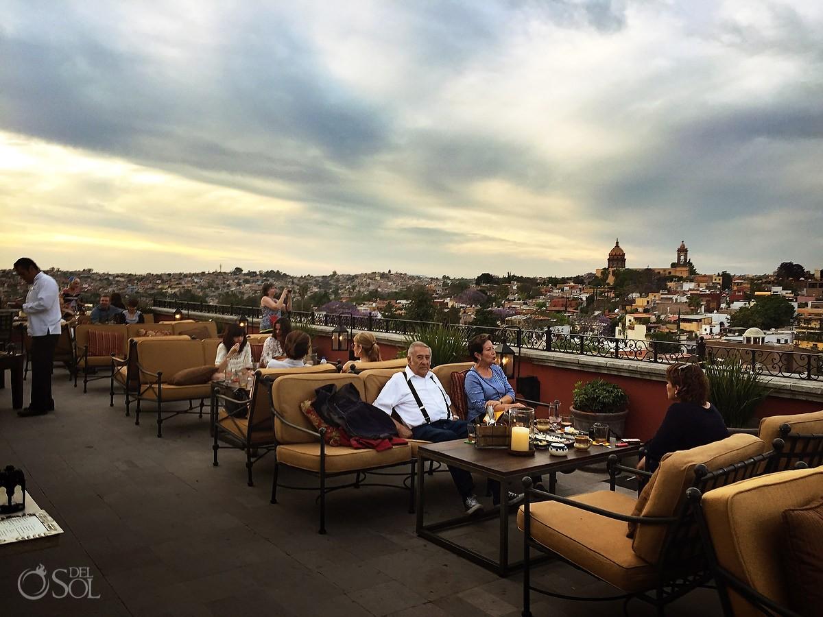 Sexiest terrace Conde Nast Traveller San Miguel de Allende