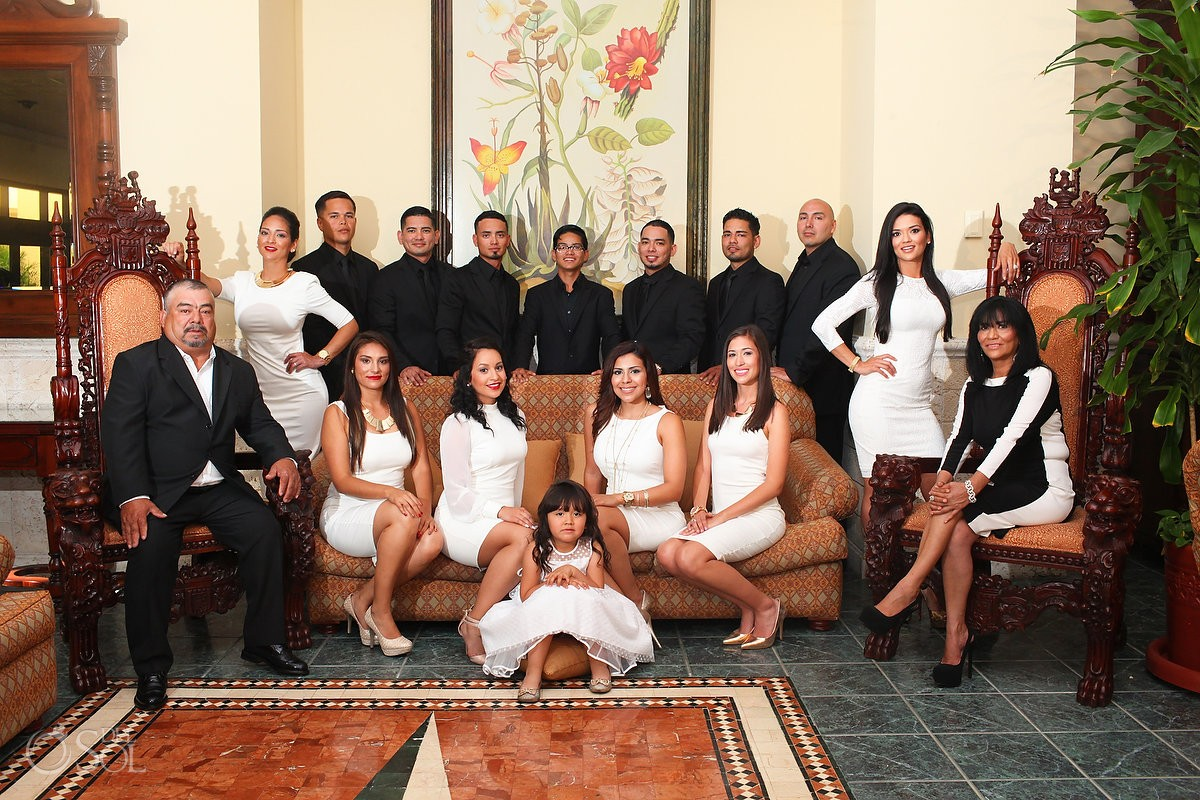 Family Portraits At The Royal Sands Cancun