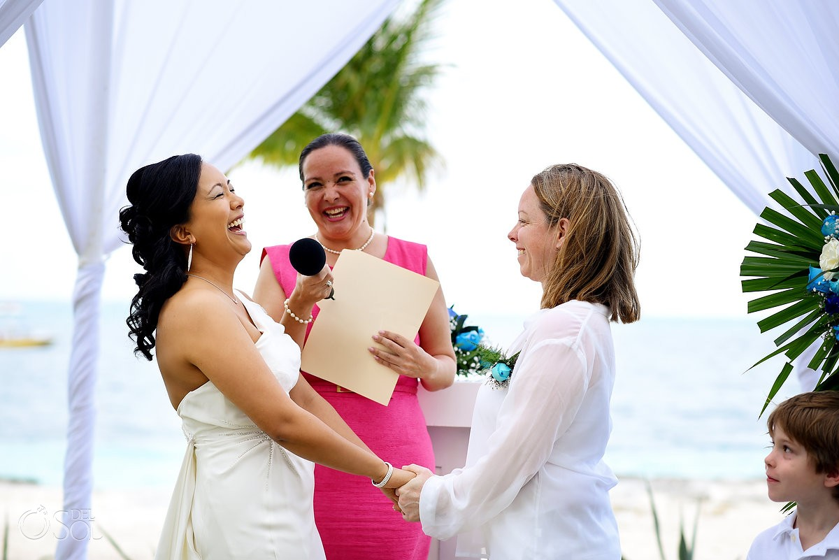 Same sex marriage, Riu Resort, Cancun, Mexico