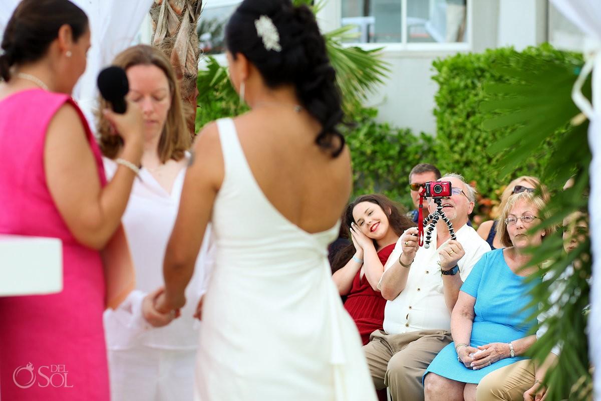 Same sex wedding Riu Resort, Cancun, Mexico