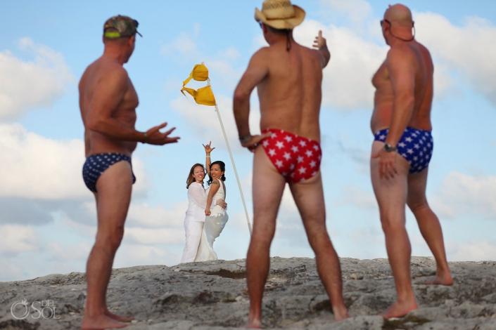 Gay wedding photography, RIU Palace Resort, Cancun, Mexico