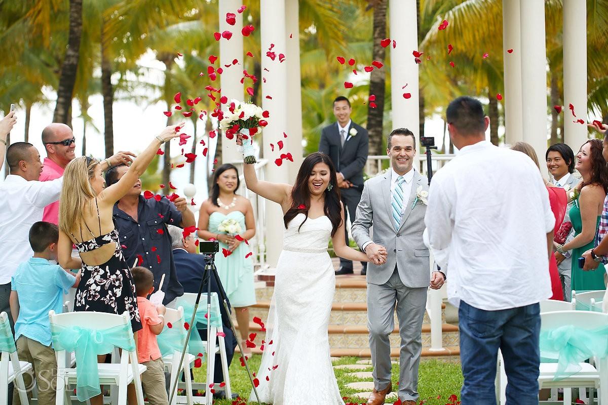 Riu Palace Riviera Maya Wedding Of Kim And James