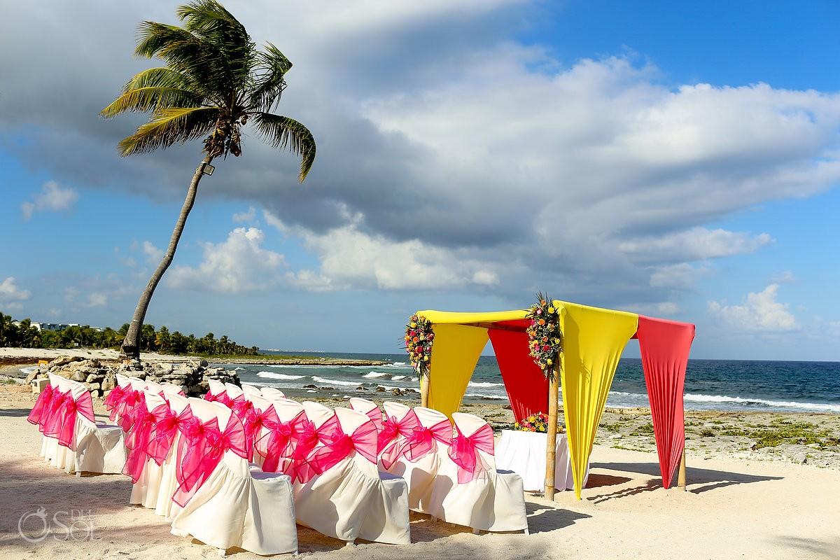 Destination wedding at the Grand Sirenis Riviera Maya Resort