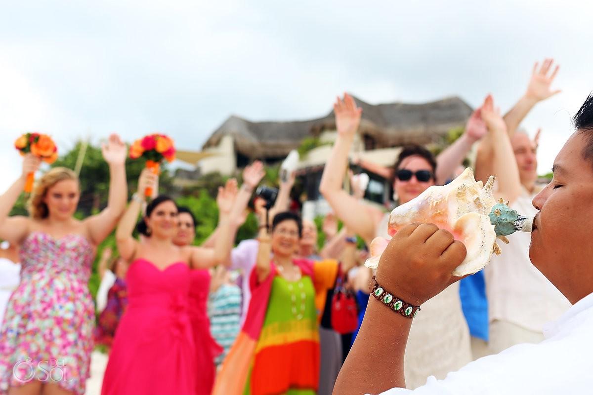 Mayan Ceremony at Hotel Mezzanine wedding photos
