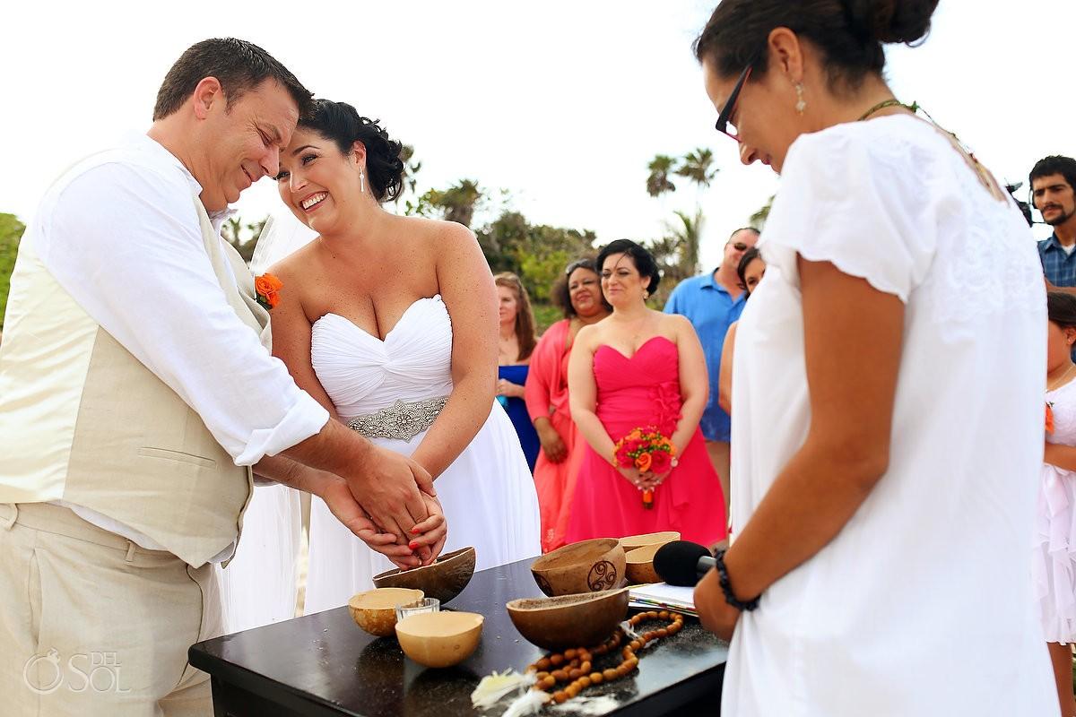 Mayan Wedding Ceremony at Hotel Mezzanine Tulum