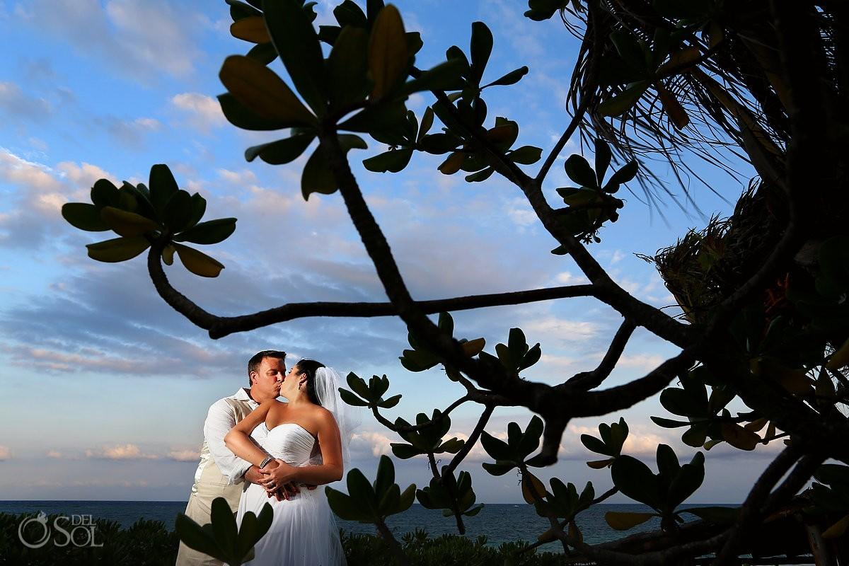 Mayan Ceremony at Hotel Mezzanine beach wedding