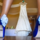 Blue high heels Now Sapphire Resort Beach Wedding ceremony