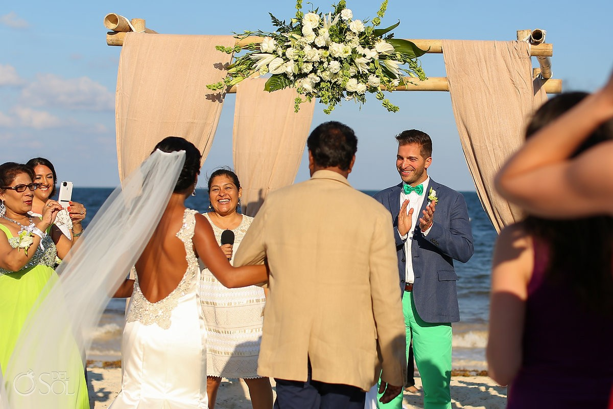 Now Sapphire Resort Beach Wedding Photographer