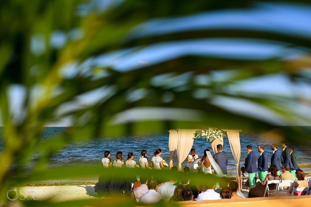 Now Sapphire Resort Beach Wedding photographs