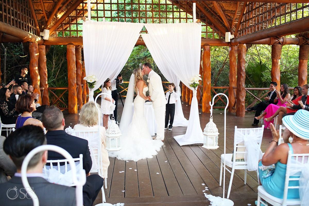 Gazebo Wedding at Paradisus La Perla Resort
