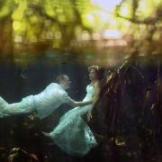 Riviera Maya Cenote Trash the Dress