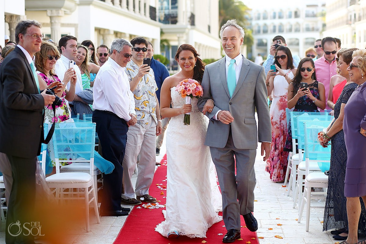 Destination Wedding at The Royal Playa Del Carmen
