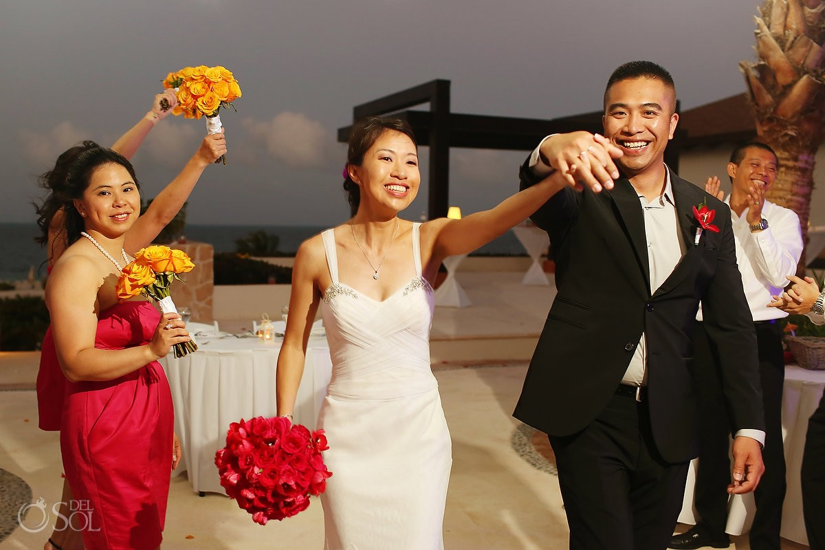 Destination Wedding at Secrets Playa Mujeres Resort