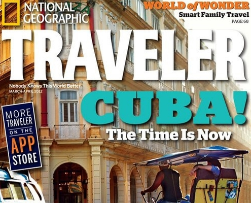 Del Sol Photography National Geographic Traveler cover