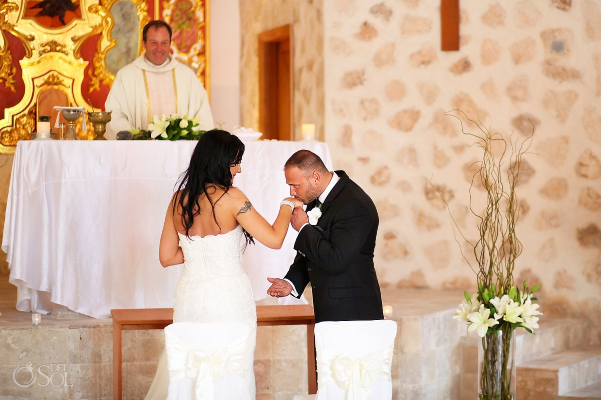 Catholic Church Wedding at Iberostar Grand Paraiso