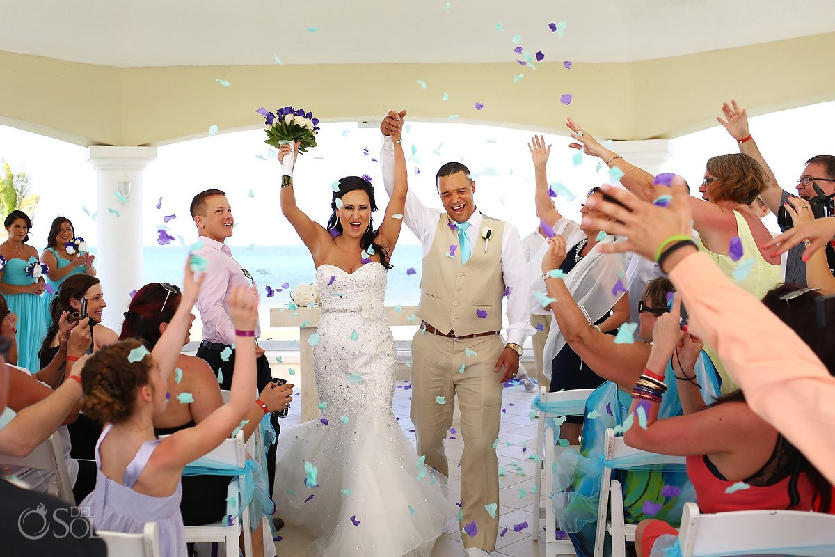 Church Wedding at Moon Palace Cancun Resort