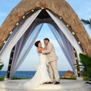 Gazebo at Dreams Riviera Cancun wedding