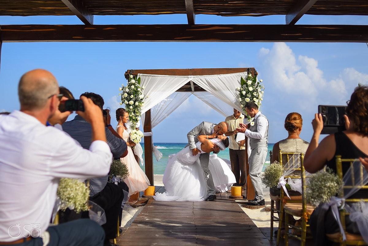 Beach Wedding At Hotel Grand Sunset Princess Resort