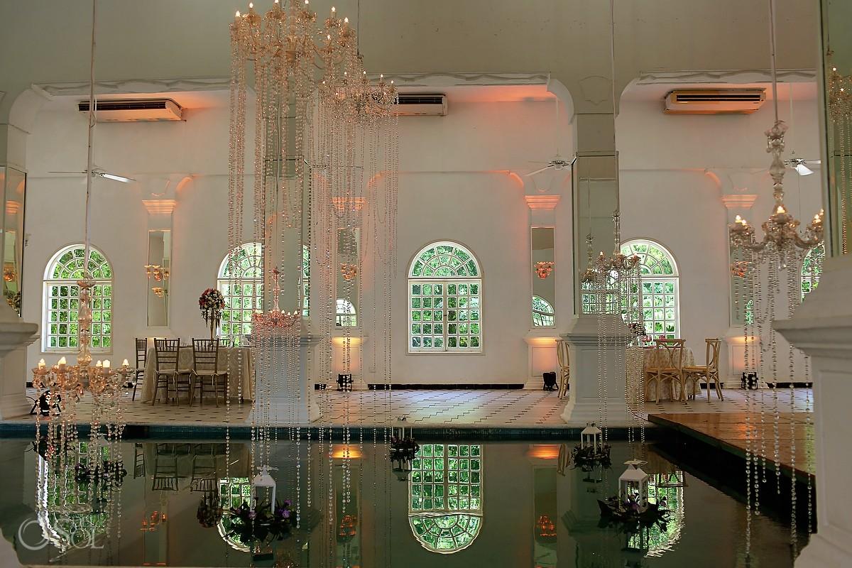 Amazing indoor pool Hacienda Teya Yucatan Mexico #ExperienciasInfinitas
