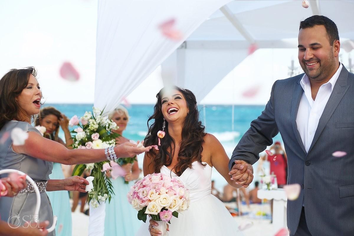 Beach Wedding at the JW Marriott Resort Cancun