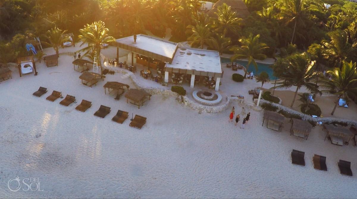 Viceroy Riviera Maya Resort Drone picture