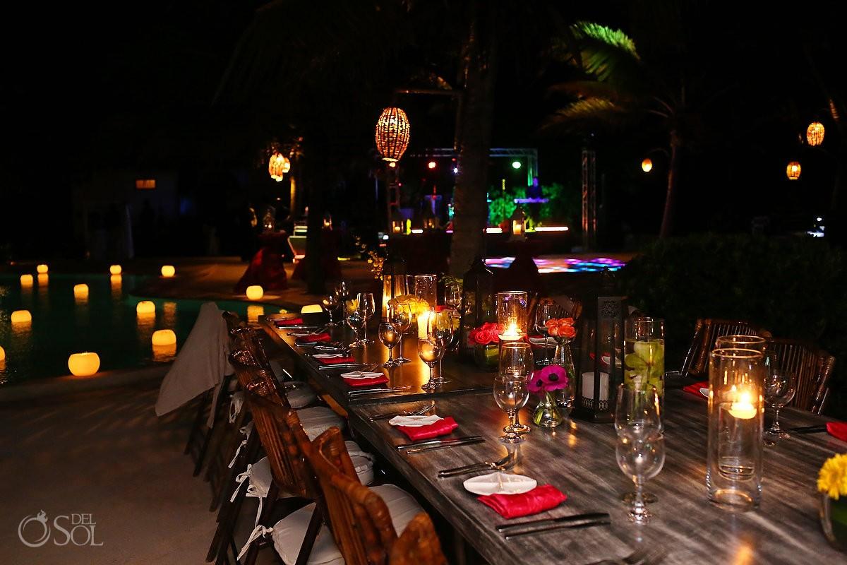 Event photography at the Viceroy Riviera Maya Resort