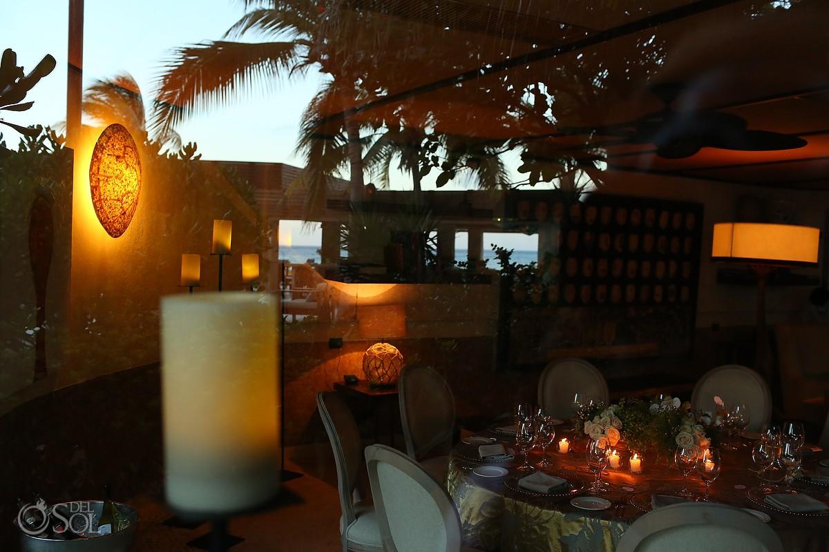 viceroy riviera maya reception dinner