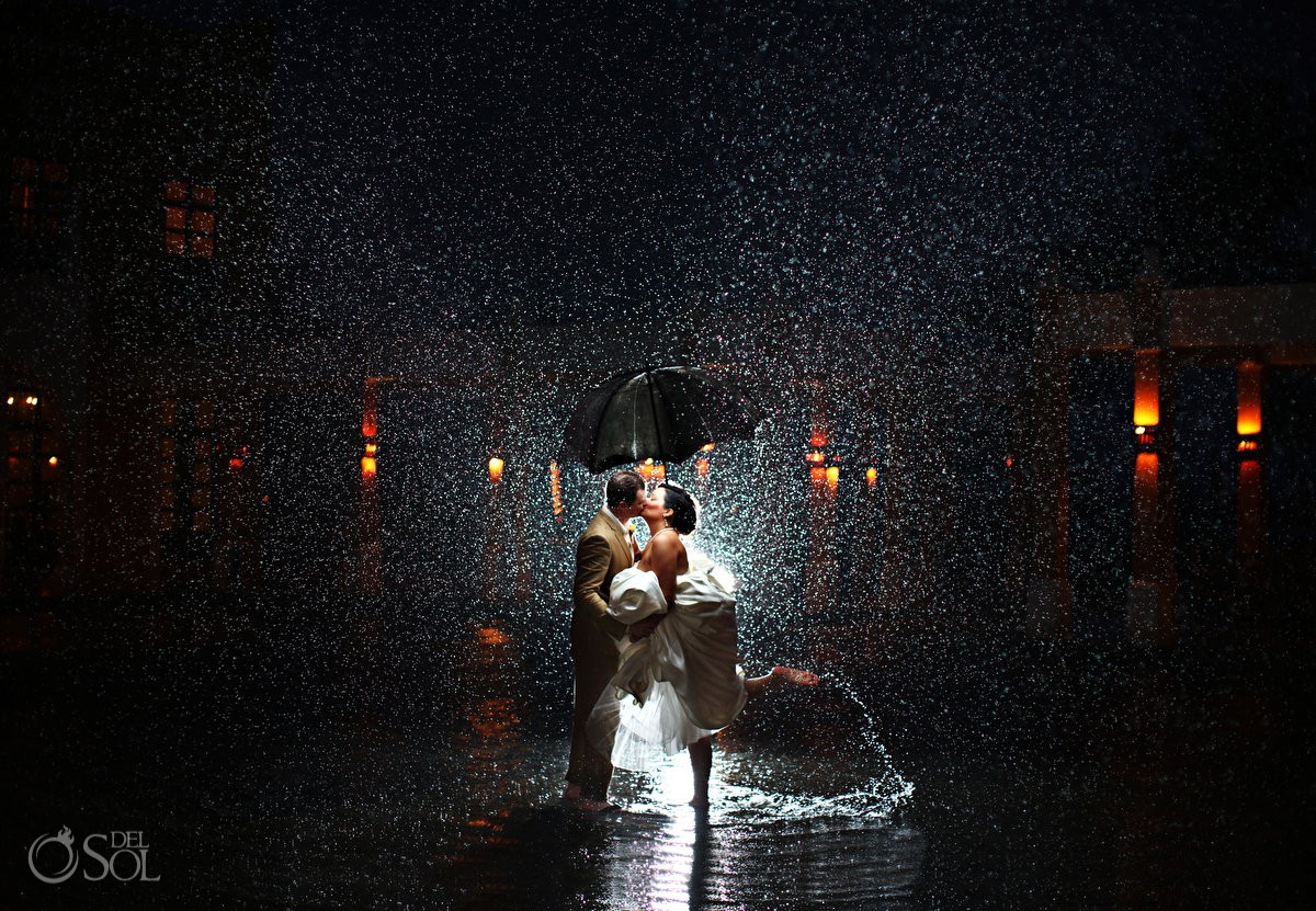 Rain on your wedding day is awesome for Best day for a wedding