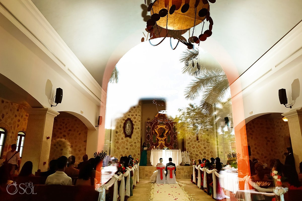 Iberostar Paraiso Lindo Church Wedding, Riviera Maya