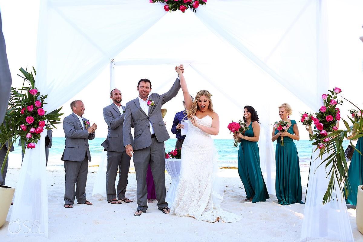 Iberostar Grand Paraiso Beach Wedding - Meghan and Dan