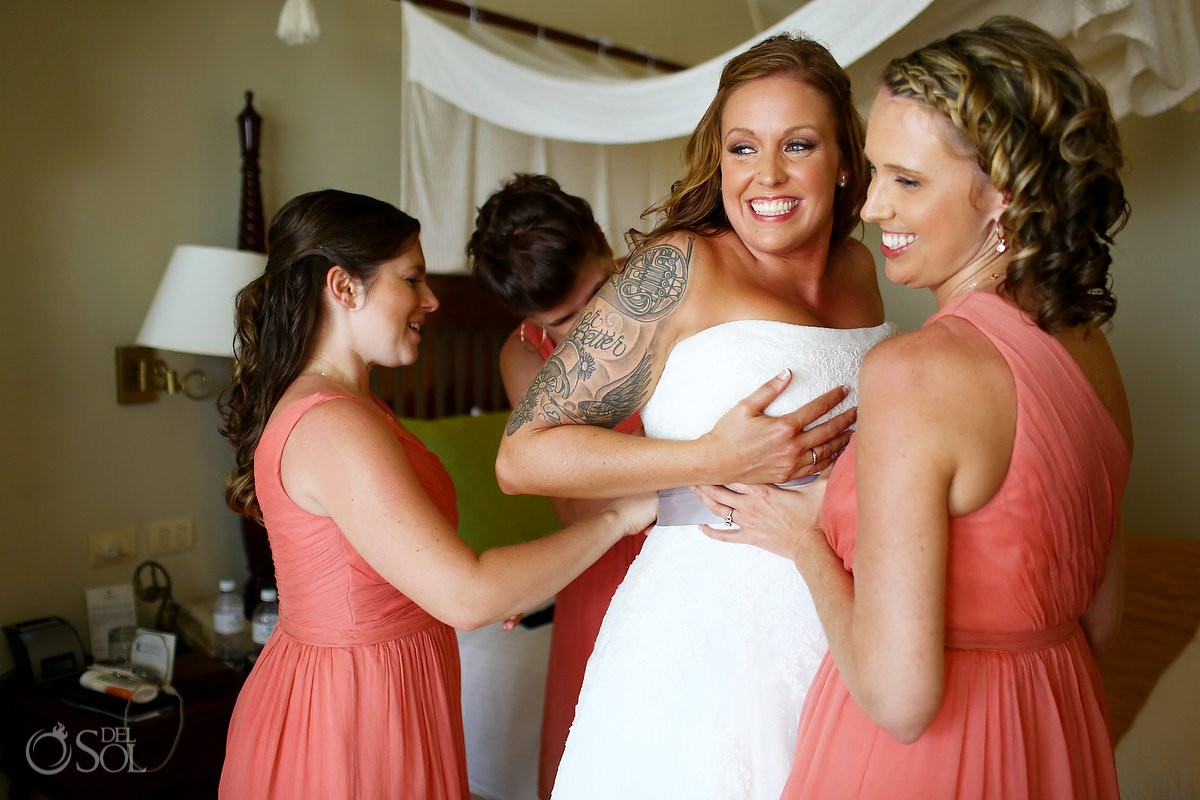 Huffington Post - 19 Rad Brides Who Rocked Their Tattoos On The Big Day