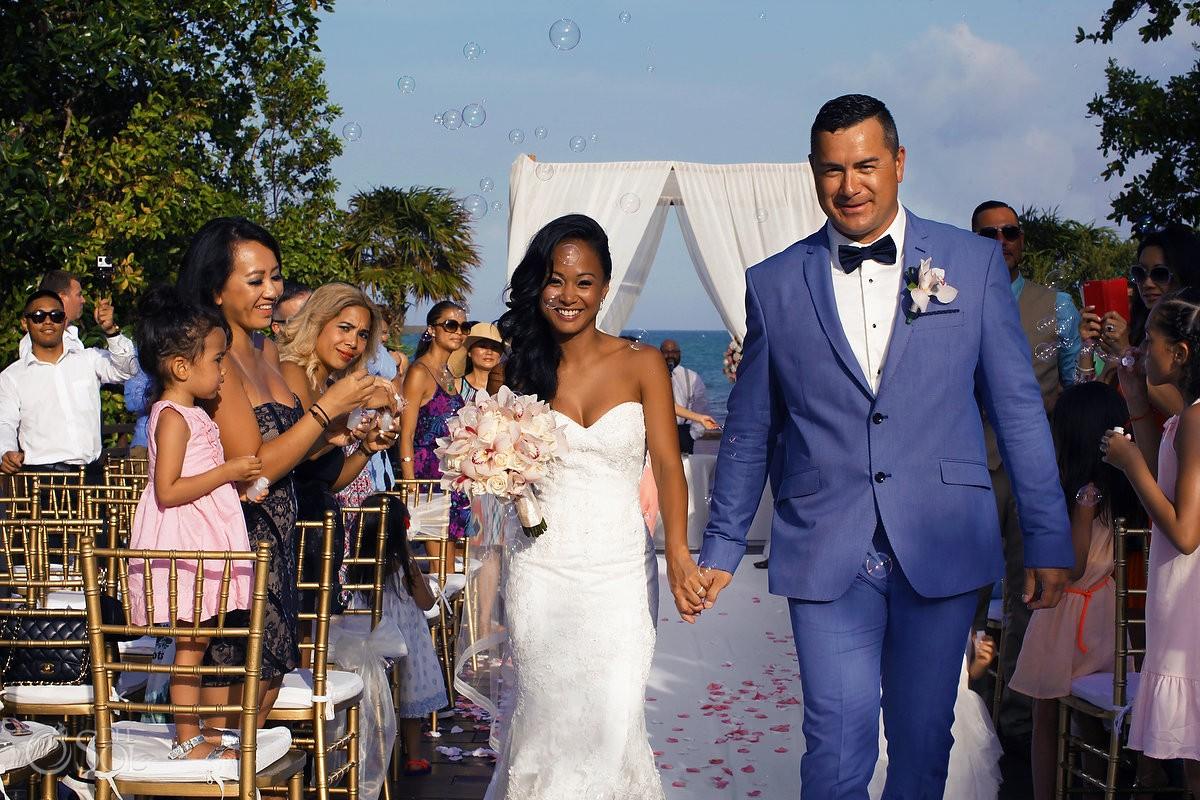 Destination wedding at Paradisus La Esmeralda Resort