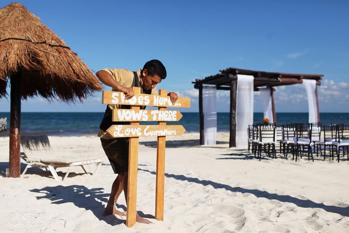 68d90b4c2369 Offbeat Wedding - Secrets Capri Riviera Cancun - Shana and Eric