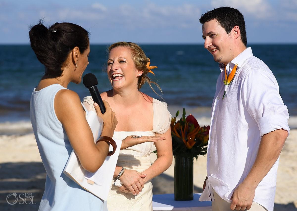 Wedding ceremony Secret Capri Riviera Cancun