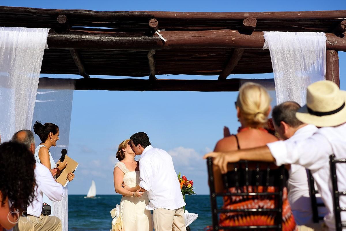 first kiss Weddings Secret Capri