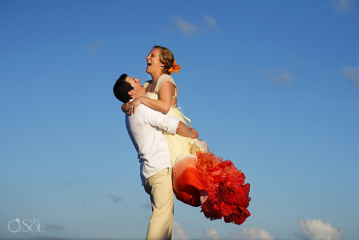 Huffpost Weddings 25 Bold, Beautiful Brides Who Wore Color Other Than White, Secrets Capri