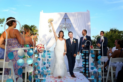 Destination Wedding at Paradisus La Esmeralda Resort