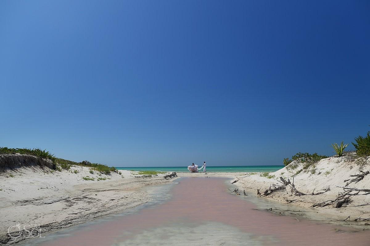 Rio Lagartos Yucatan Mexico Pink Lagoons #ExperienciasInfinitas