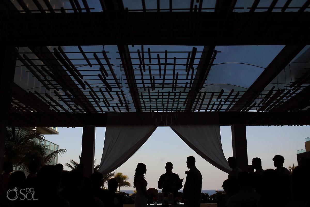 Cancun Wedding Secrets Vine gazebo