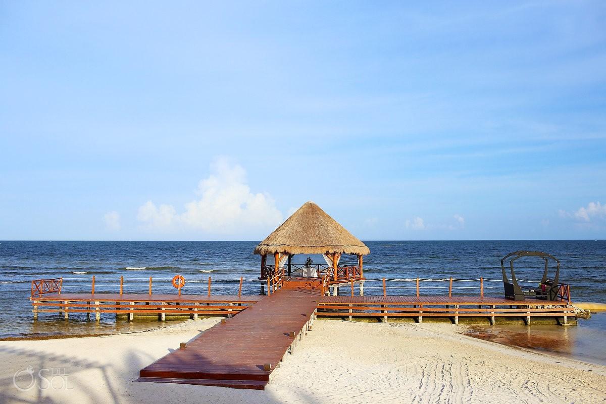 Gazebo at Secrets Silversands Riviera Cancun, Mexico.