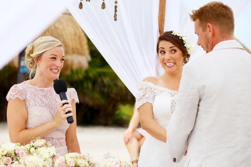 Romantic Boho Wedding at Blue Venado Beach Club Playa del Carmen Mexico
