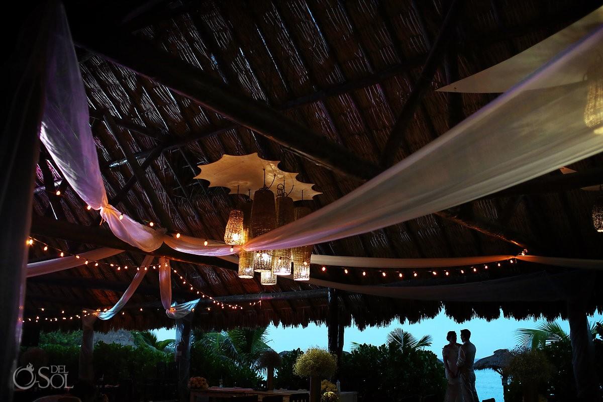 Blue Venado Beach Club restaurant, Playa del Carmen Mexico