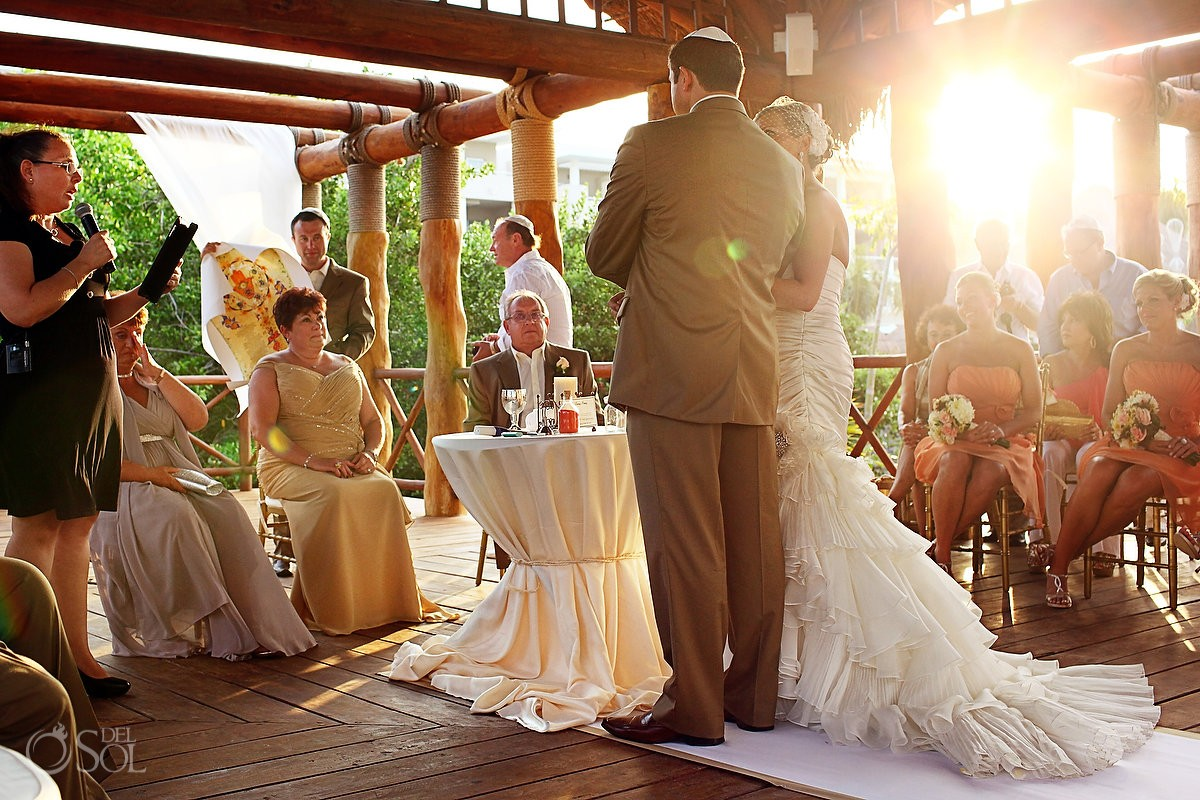 Wedding Ceremony in the Gazebo at Paradisus resort, Playa del Carmen