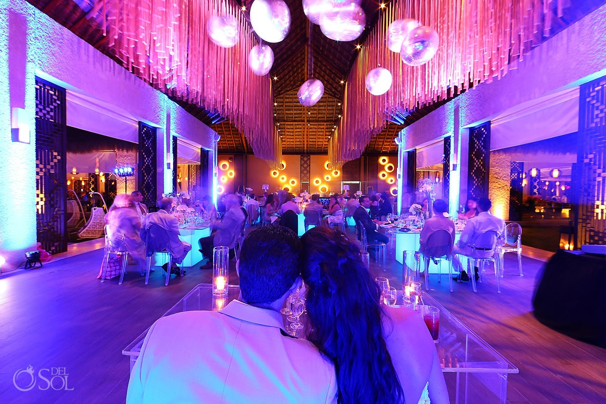 luxury resort destination wedding reception gabi club paradisus playa del carmen