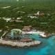 Aereal photographs of eco Theme Park, Playa del Carmen, Mexico