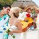 Mariachi kiss Wedding at Dreams Puerto Aventuras, Riviera Maya, Mexico